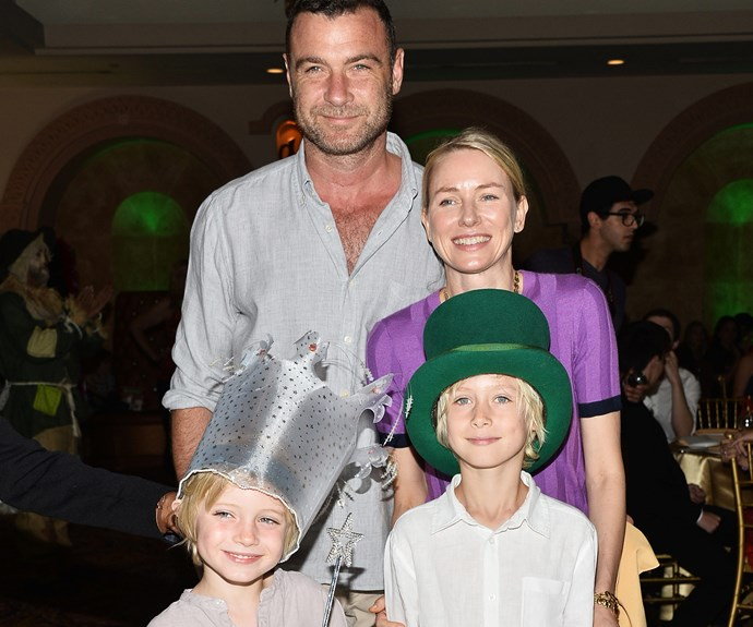 Sasha is Naomi's first child with longtime partner Liev Schreiber. They're also parents to seven-year-old Samuel Kai.