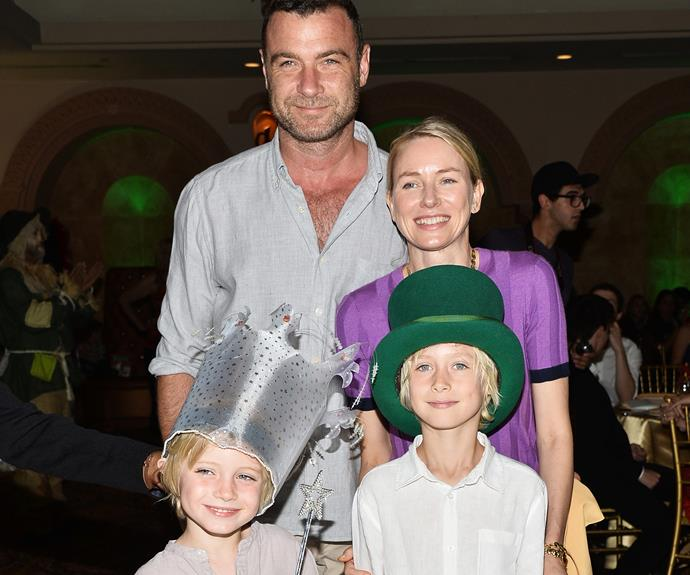 Sasha is Naomi's first child with ex-partner Liev Schreiber. They're also parents to Samuel Kai.