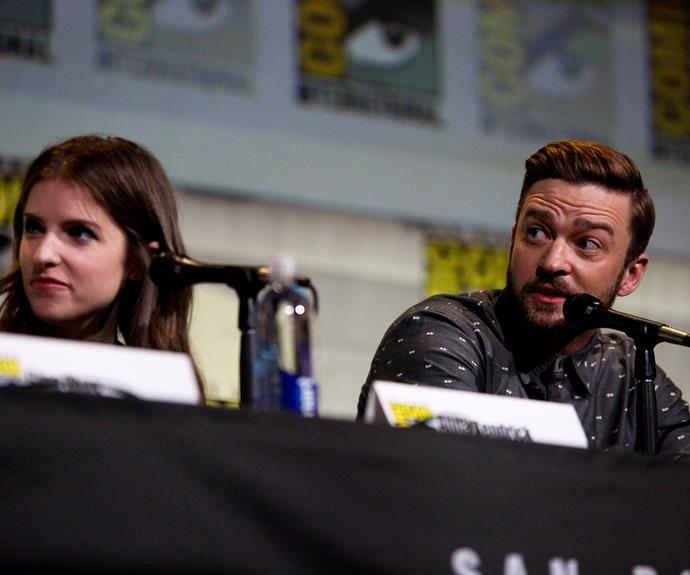 He recently attended a panel with Anna for Comic-Con.