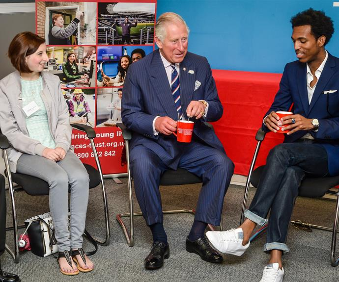 Prince Charles attended the opening of his new Prince's Trust centre in Bristol. The trust helps  13 to 30 year-olds who are unemployed or struggling at school to transform their lives.
