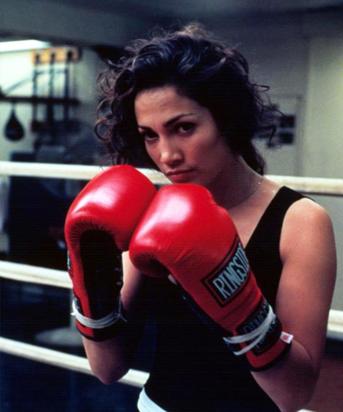 Jennifer Lopez has continued to box since filming *Money Train* in 1995.