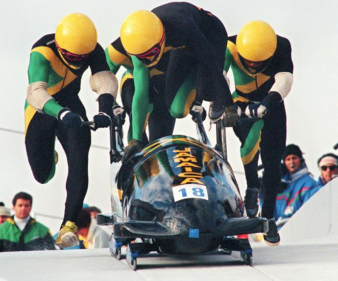 The Jamaican bobsled team were considered the ultimate underdogs when they entered the 1988 Calgary Winter Olympics, even having to borrow spare sleds to compete. The team may not have taken away any medals (ever) but they did compete in five more Winter Olympics.