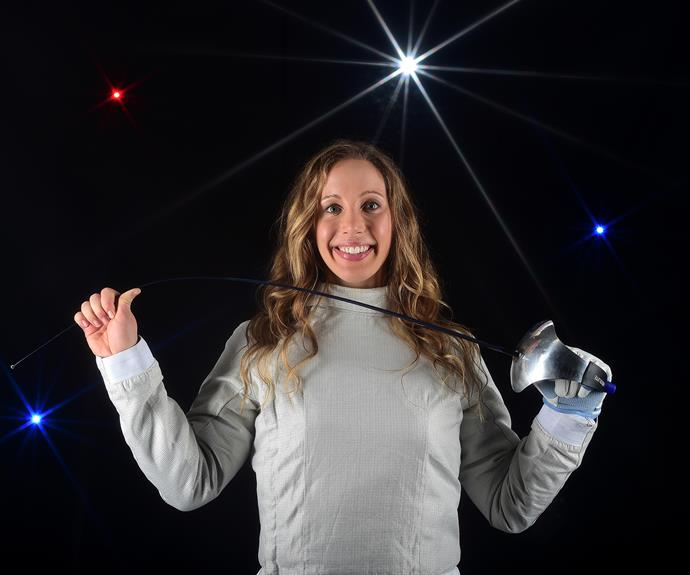 Mariel Zagunis didn't qualify for the 2004 Athens Olympics, but ended up in the tournament when Nigeria pulled out. While all hopes were pinned on her fellow American (and the world #1 in women's fencing) Sada Jacobson, underdog Mariel won gold becoming the first American to win an Olympic gold for fencing in 100 years. How's that for a story!