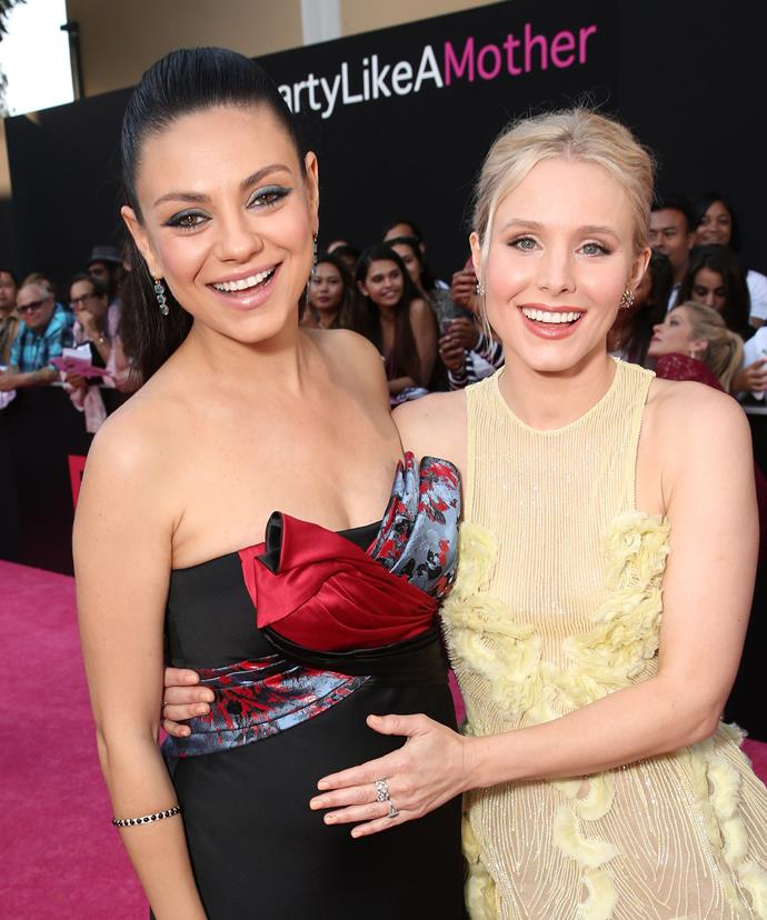 Mila's revelation comes just after her *Bad Moms* co-star Kristen Bell released pictures of her own frugal wedding.