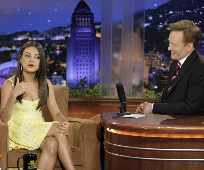 Mila and Conan go way back, which is probably why she let him get away with implying she was cheap!
