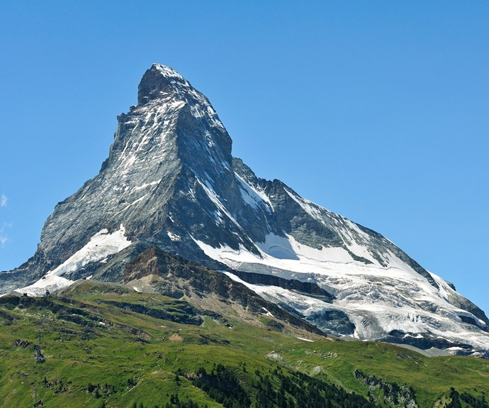 The Matterhorn in Switzerland has claimed the lives of over 500 climbers.