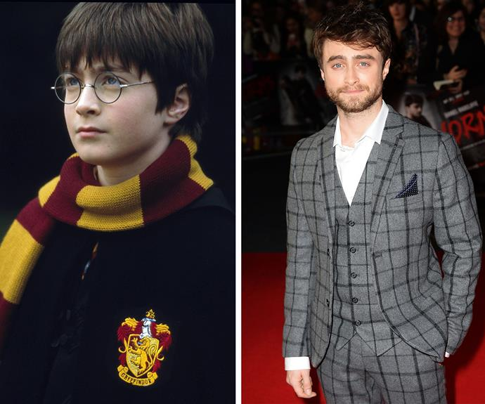 There's Harry Potter without the man himself, Mr Daniel Radcliffe!