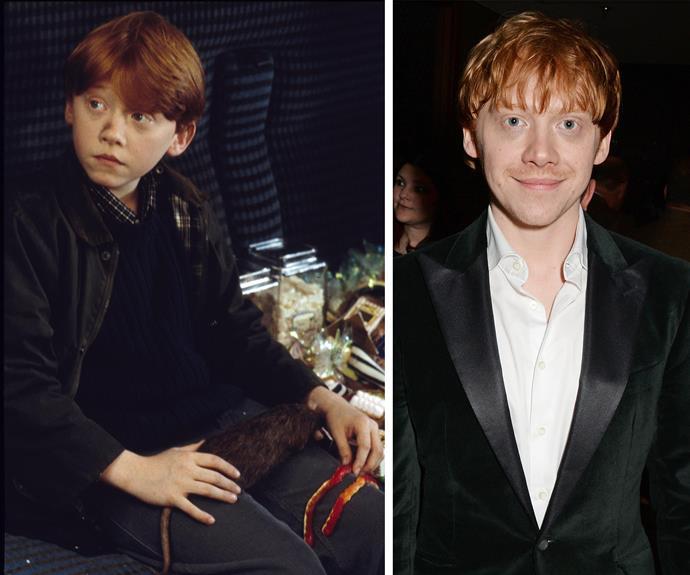 Rupert Grint portrayed Ronald Billus Weasley... #FireEmoji