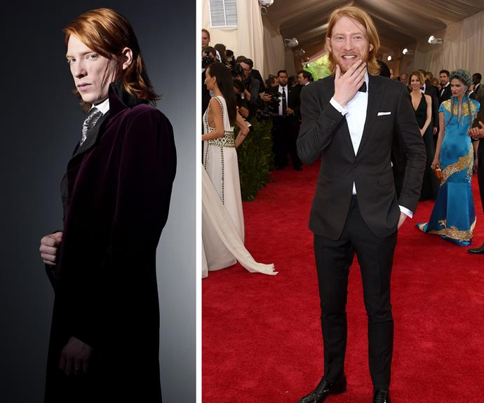 Domhnall Gleeson may have played werewolf Bill Weasley but he is leaped into becoming a major Hollywood hottie!