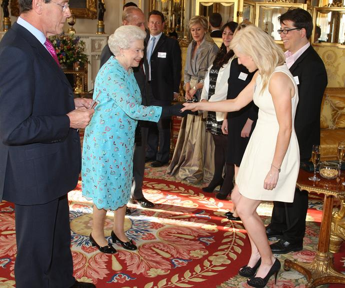 **Ellie Goulding, 2011** The pair met at a performing arts reception at The Queen's home of Buckingham Palace.
