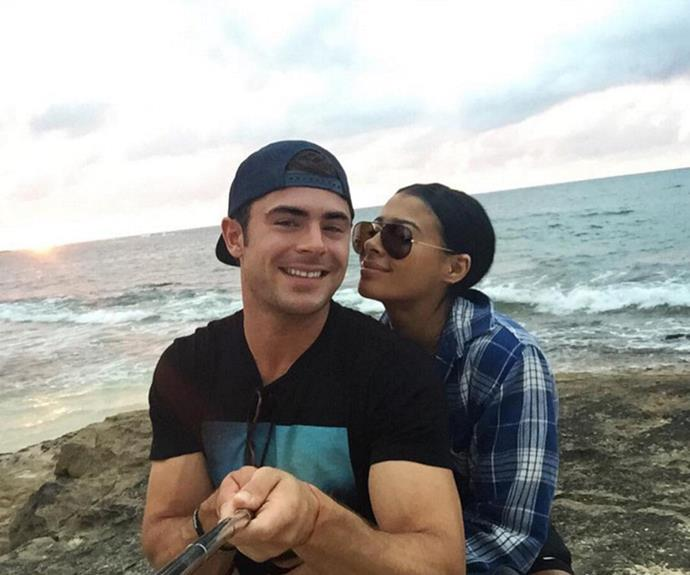 What went wrong? Zac deleted all traces of his ex from social media after their split.