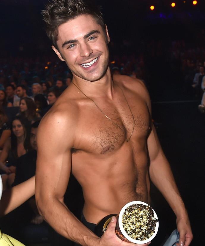 Somehow we don't think Zac will have much trouble landing a date...