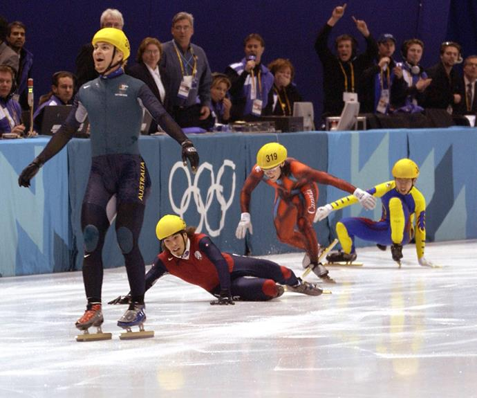 The nation fell in love with Steven Bradbury after he won gold in the most unlikely of circumstances.