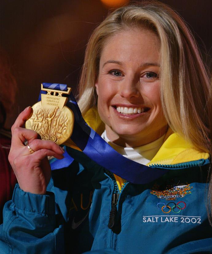 Alisa Camplin became first Aussie to win gold at aerial skiing!