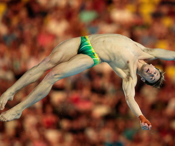 Matthew Mitcham says he never expected to win gold.