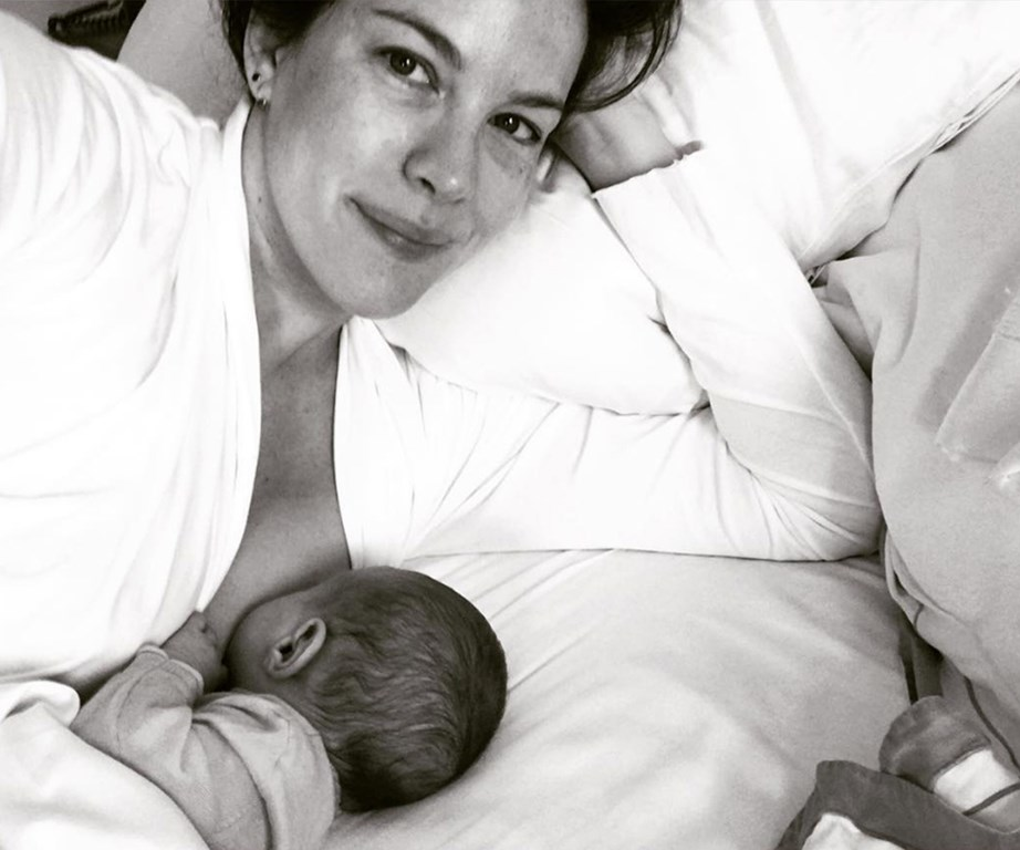 Celebrities like Pink, Chrissy Teigen and Liv Tyler are on a mission to normalise breastfeeding.