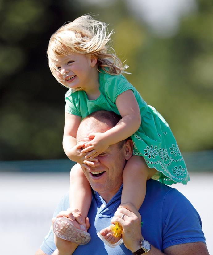 Giddy up, Daddy!