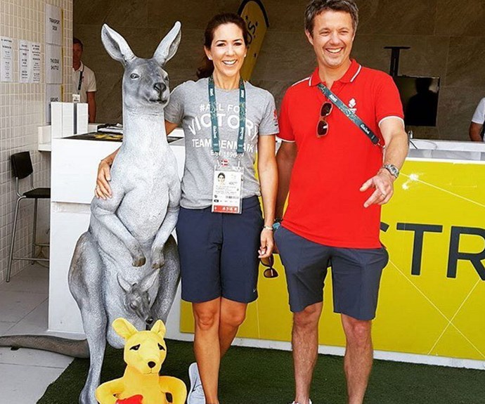 "16 years after meeting during the Sydney Olympics, Princess Mary and Prince Fred supported[both Australia and Denmark](http://www.womansday.com.au/royals/international-royals/princess-mary-will-support-aussies-at-the-rio-olympics-16115|target=""_blank"") at the Rio Olympics in 2016."
