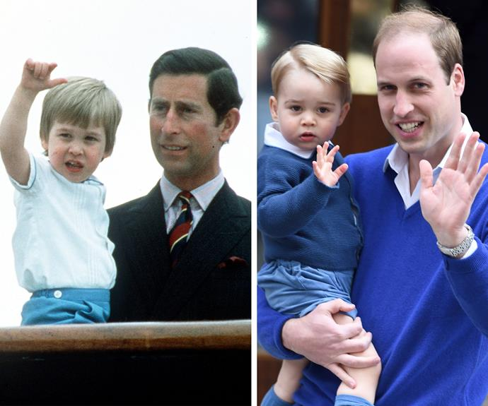 Charles is reminded of little Wills.