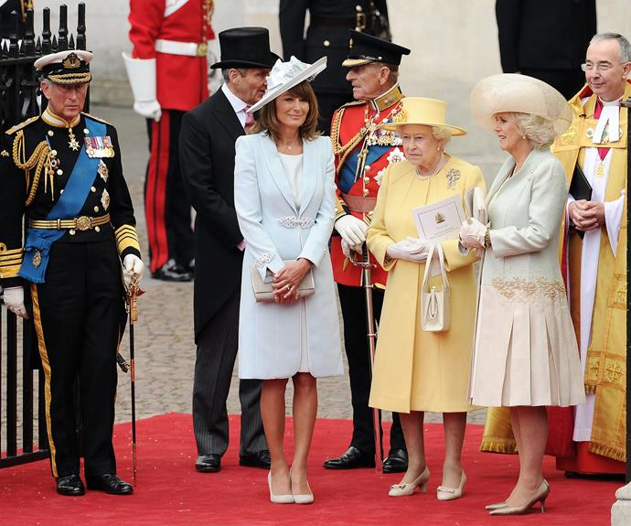 Carole and the Middleton clan have become unofficial members of the royal family.