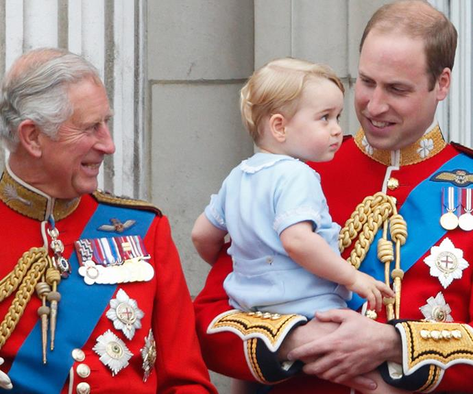"""The Prince mused, """"It's fun to be a grandfather!"""""""