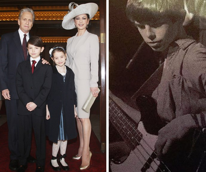 """Catherine Zeta-Jones is one proud mama. The starlet is celebrating her son Dylan's 16th birthday. The mum-of-two shared a sweet vintage-looking photo of her son, along with the caption, """"My beautiful boy is 16 today. I can't believe how blessed I am to be able to call you my son. I love you."""""""