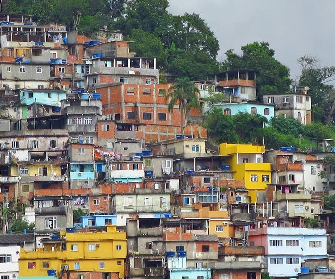 Rio's favelas provide another aspect to the bustling city.