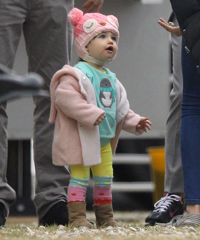 Ashton and Mila's daughter, Wyatt, will not be spoilt!