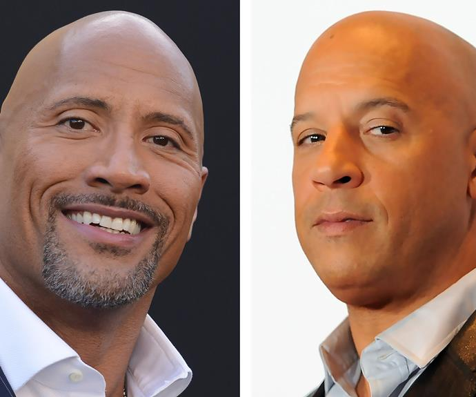 The Rock and Vin Diesel are said to be seriously clashing.