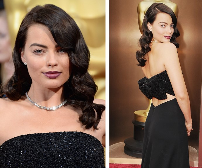 Margot displayed a much darker side at the 2014 Oscars.