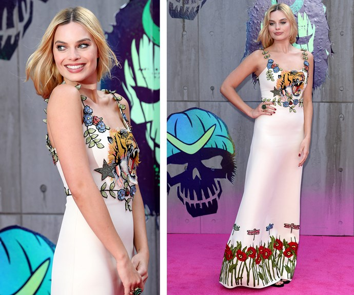 It's true, no matter what she wears, the actress can simply do no wrong. **Find out how Margot keeps her face youthful and glowing in the next slide!**