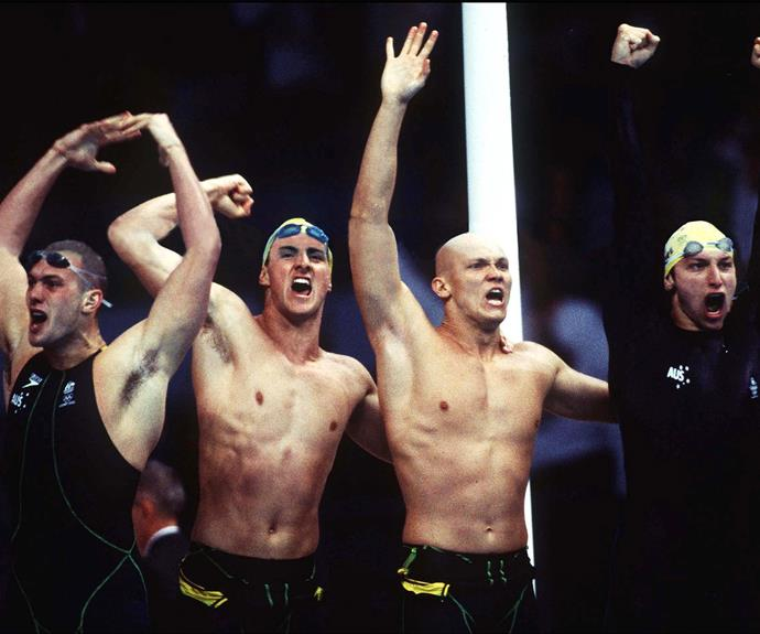 His parent's are so proud of all of his achievements. **Check out Micheal talk about smashing the relay at the 2000 Sydney Olympics in the video below. Post continues...**