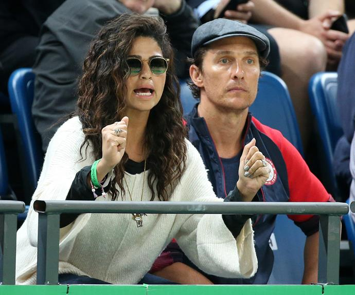 Matthew McConaughey and his wife Camila Alves have been slaying their Olympic attendance.