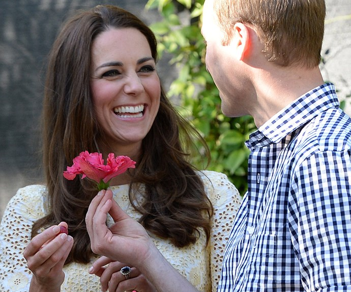 Fast forward to 2010, a besotted William popped the question on a trip to Kenya.