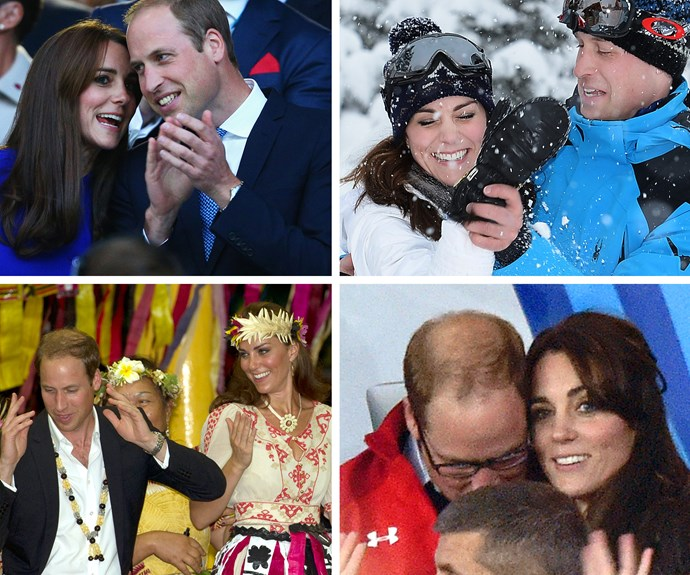 From sweet nothings, dancing like no one is watching and frolicking in the snow - Wills and Kate know how to do romance. **Check out some the sweetest candid moments from the royals in the next slide! Gallery continues...**