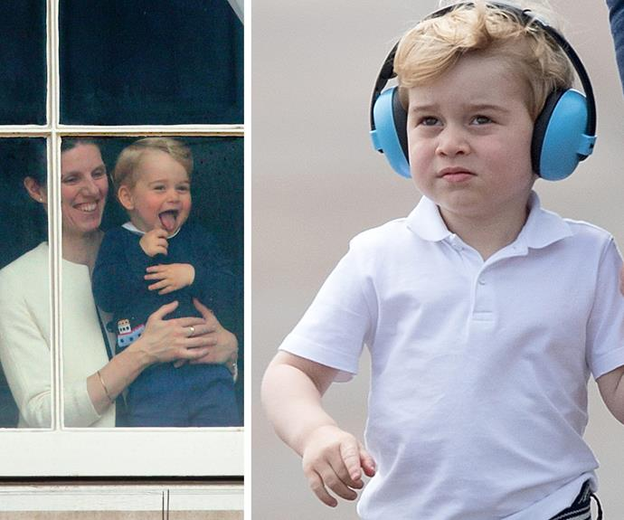 We have to credit our current king of candid, George Alexander Louis, Prince of Cambridge. The tot has no issues showing us how he really feels. **Check out his cutest moments in the next slide. Gallery continues after the video!**
