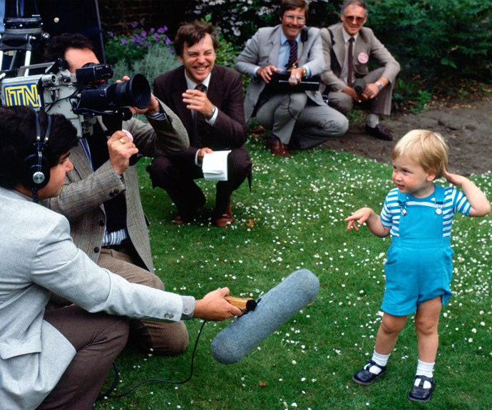 "The second-in-line to the throne has a charming ability to make those around him chuckle. Bob Geldof recalled he was once invited to Kensington Palace, when a very young Wills quipped to his mother Diana, ""Why doesn't he wash his hair?"""