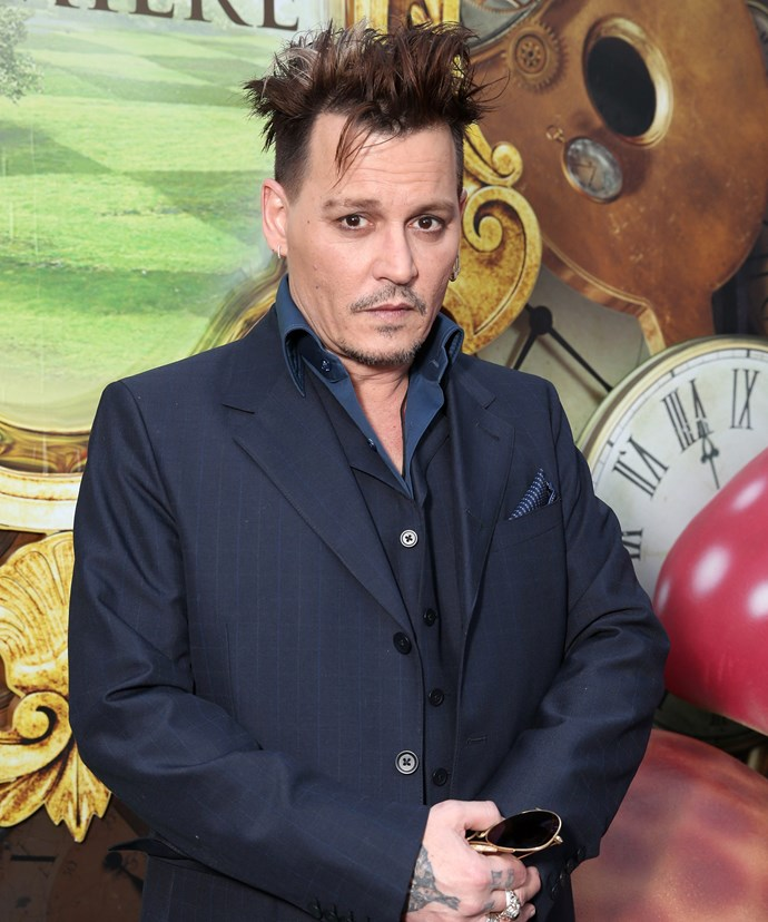 The man in the video, purported to be Johnny Depp, appears to be slurring in the footage.