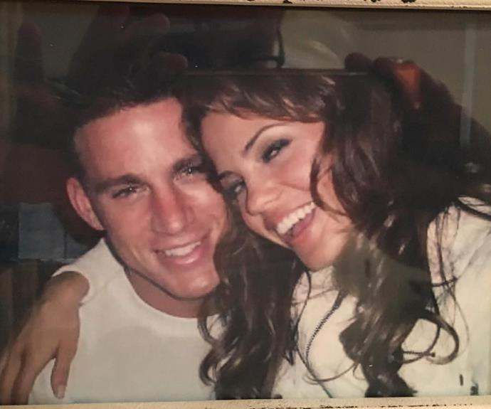 Jenna recently shared this adorable throwback selfie to mark their breakthrough film's 10 year anniversary.