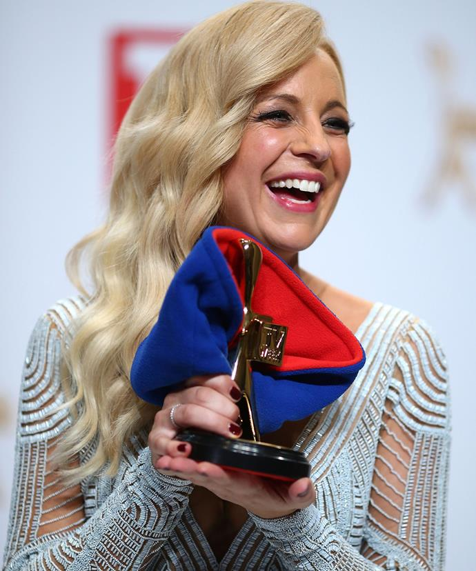 No doubt Carrie feels incredibly proud for reaching such a huge milestone.