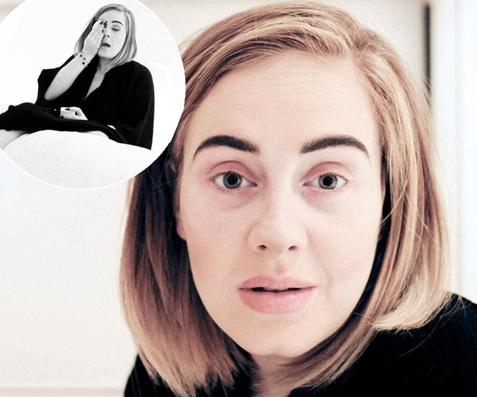 Adele shared a series of stunning no-makeup selfies from her hotel room in Phoenix, Arizona after she was forced to cancel her second show in the city due to a nasty cold. While she may be under the weather, her natural beauty still shines through. **See the star's heartfelt apology to her fans in the next slide!**