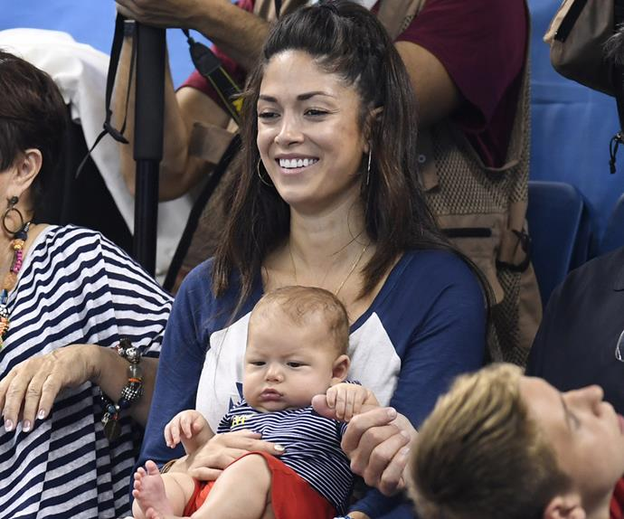 Boomer Phelps and Nicole Johnson