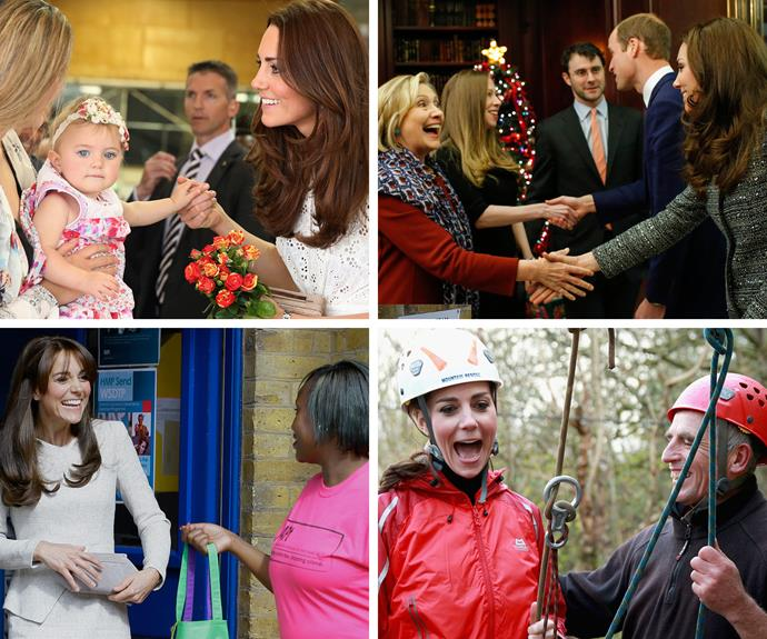 With her funny sense of humour, beauty and kindness - we can see why Kate is adored by our friends across the pond.
