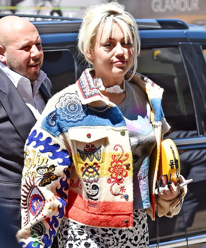 Miley apparently is having a hard time deciding on anything to do with the wedding.