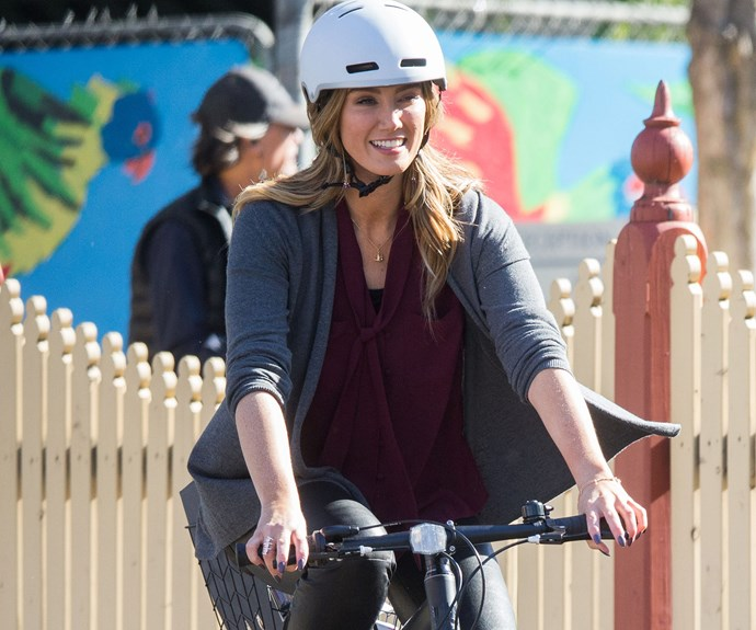 Delta Goodrem is riding her way back onto our TV screens in her comeback role on season 