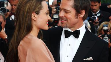 Brad Pitt and Angelina Jolie celebrate their two year wedding anniversary