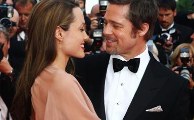 Brad Pitt and Angelina Jolie celebrate their two year wedding anniversary