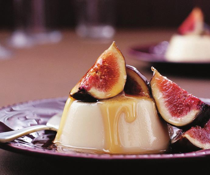 "For a high-fibre dessert, try this [Clove panna cotta with fresh figs](http://www.foodtolove.com.au/recipes/clove-panna-cotta-with-fresh-figs-20745|target=""_blank"")."