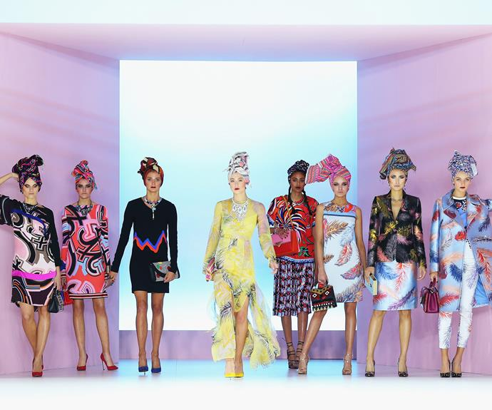 And while the slew of Aussie celebs were there to observe the stunning Spring collections...