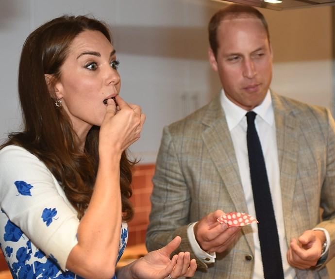 Duchess Catherine knows the amazing benefits of dark chocolate...